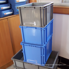 Stackable Plastic Container/PP plastic box for goods transportation
