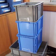 Caixa plástica empilhável do recipiente plástico / PP para o transporte dos bens