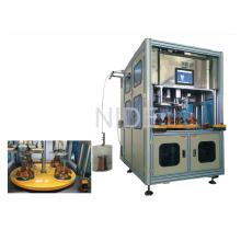 Bobina automática del estator de cuatro estaciones de trabajo que enumera la máquina