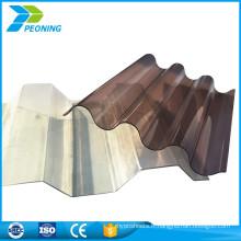 Panneaux en fibre de verre en tôle ondulée en gros en usine