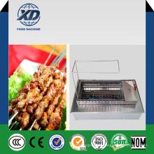 Máquina de churrasqueira Máquina de grelha rotativa Máquina de churrasqueira elétrica