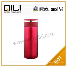 2012 new type red color stainless steel vacuum mugs