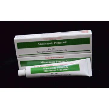 20 Years manufacturer for Antifungal Drugs Miconazole Cream USP  2%/30g export to Nepal Suppliers