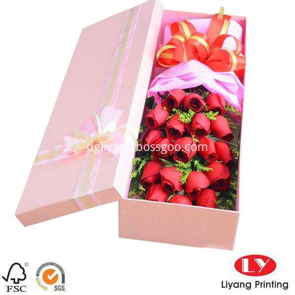 large gift box pink