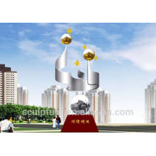 2016 New Symbolic City Sculpture High Quality Art Work