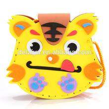 3D DIY EVA Bags Foam Kid Baby Toys Cartoon Animal Series Early Learning Toys for Children