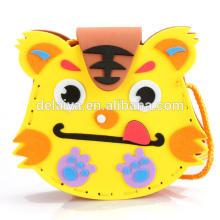 3Д DIY сумки Ева пены ребенок ребенок игрушки мультфильм животных серии раннего обучения игрушки для детей