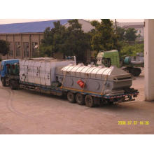 Secador de leito fluidizado com ácido cítrico