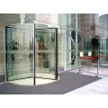 All Glass Revolving Doors with Force-sensitive Door Leafs