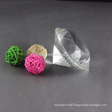 Wholesale High Quality Blank Clear Crystal Glass Diamond