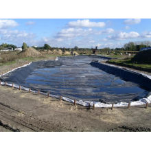HDPE Pond Liner/Geomembrane 45mil Black