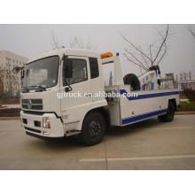 RHD Dongfeng camión de auxilio / camión de auxilio / camión de rescate de carretera / vehículo de rescate de carretera / camión de rescate de Wrecker / coche de rescate