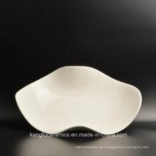 Venta al por mayor barato del servicio de mesa del banquete de cerámica