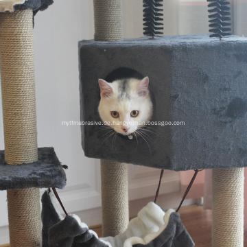 Eigentumswohnungs-Möbel Kitten Activity Tower Tree mit Höhle