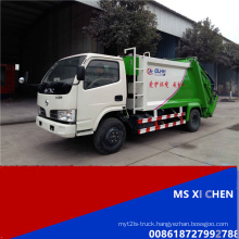 Dongfeng 4000L 4X2 LHD Hot Sale Compactor Garbage Truck