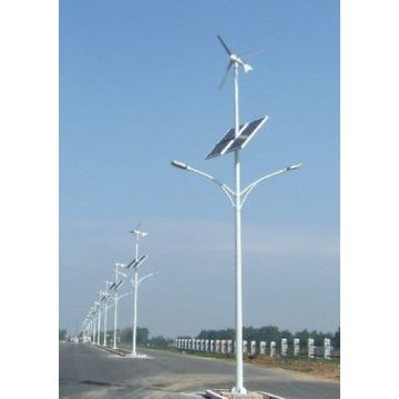 40W LED Solar Light with 400W Windmill Fan