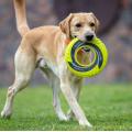 Jouet de chien de disque volant non toxique en tissu de nylon