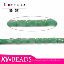 Wholesale High Quality Loose Gemstone Natural Green Agate Beads