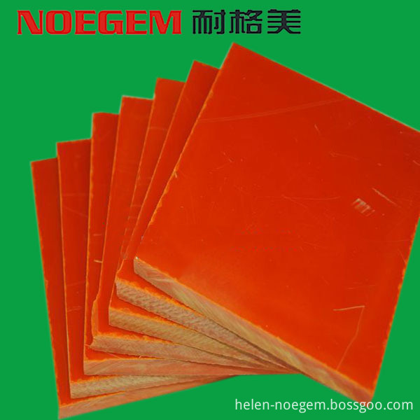 Orange Bakelite Sheet