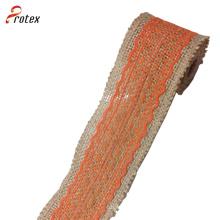 Cordón de la cinta de la arpillera