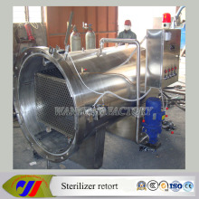 Autoclave Retort Sterilizer for Box Lunch