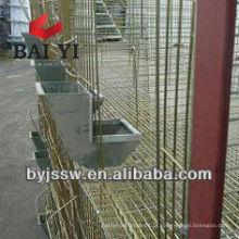 Abastecedores de coelho de aço galvanizado