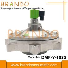 DMF-Y-102S G4'' SBFEC Type Full Immersion Diaphragm Valve