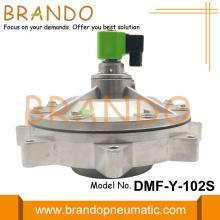 DMF-Y-102S G4 '' SBFEC Válvula de diafragma de imersão total