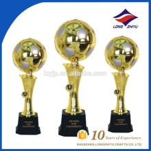 Wholesale cheap price football trophy super quality