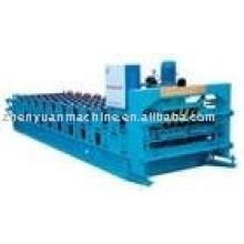 Máquina formadora de capa simple / doble, máquina de laminación de forma, rollo de panel de chapa formando línea