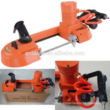 Small Handheld Speed Variable Metal/Wood/Steel Cutting Saw Machine Pneumatic Portable Band Saw