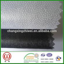 Hot vente unique point Super qualité polyester non-tissé interlignage