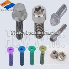 GR5 titanium nuts bolts