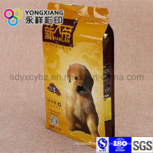 Customized Flat Bottom Bag for Pet Food/Dog Food
