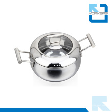 Neuer Design Stock Pot Edelstahl Ware Suppe Topf
