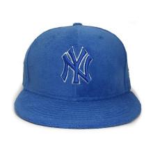 Symbol-Stickerei-Art- und Weisebaseball-Kappe Blau