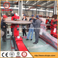 2017 SHUIPO machine Dished end flanging machine for road tank Dished End bending Machine