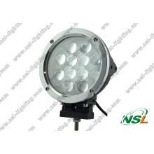 Luz del trabajo del CREE 60W LED de 7 pulgadas 12PCS * 5W, lámpara de conducción