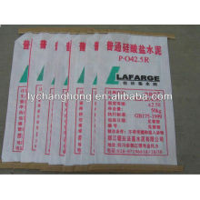 Linyi pp woven cement bags