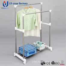 Atainless Steel Double Pole Clothes Hanger