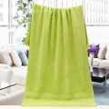 Best Bath Towels Plain Dyed Lime Green Towels