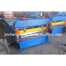 Máquina formadora de hoja de techo hidráulica