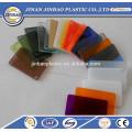 janelas acrílicas de cor clara / translúcida resistentes ao calor