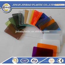 fenêtres acryliques de couleur claire / translucide résistant à la chaleur