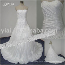 2011 latest elegant drop shipping freight free ball gown style 2011 wedding dress JJ2358