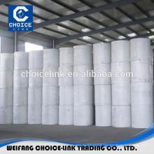 Spun bond polyester mat for bitumen membrane
