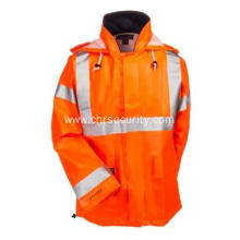 High Vis FR Waterproof Work Jacket