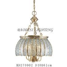 European style Pendant lamps, Glass & Copper Material