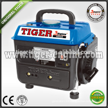Tiger china competitive price copper wire Mini Gasoline Generator