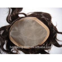 Lace Front Fine Mono Hairpiece/Toupee for Men